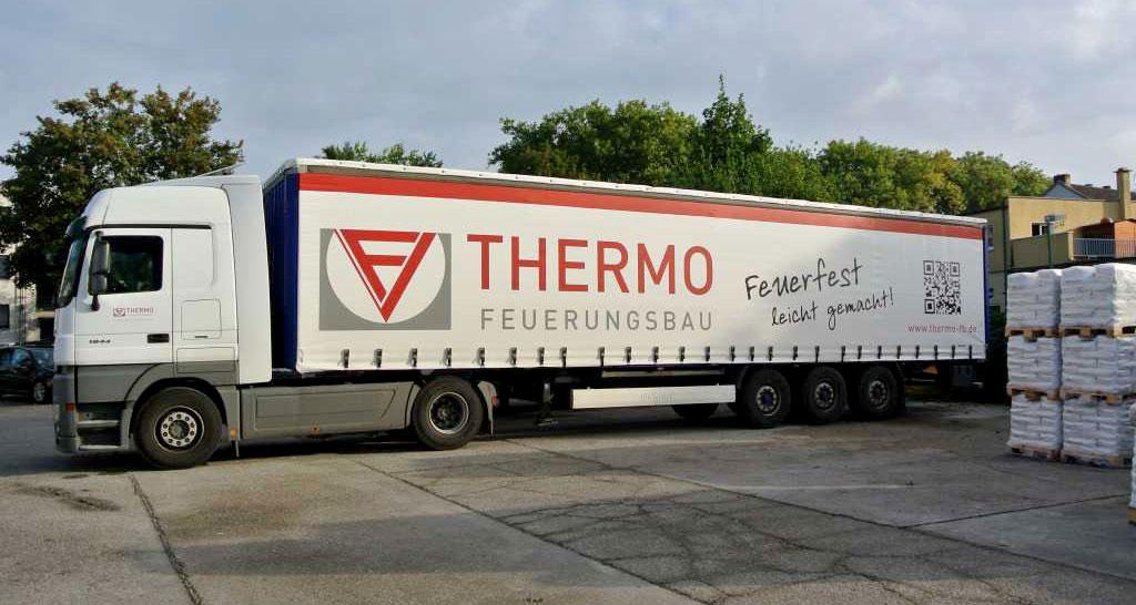 Thermo Feuerungsbau LKW 40T - feuerfest leicht gemacht